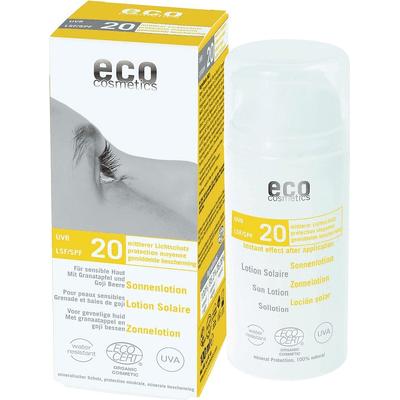 SPF 20 emulsja na słońce z granatem i owocem goji Eco Cosmetics