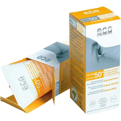 SPF 50+ krem na słońce z rokitnikiem i oliwką Eco Cosmetics