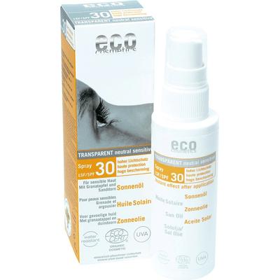 SPF 30 olejek na słońce z granatem i rokitnikiem Eco Cosmetics