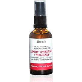 IOSSI Delikatny olejek do masażu w ciąży - Olej migdałowy i lipidy owsiane