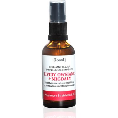 Delikatny olejek do masażu w ciąży - Olej migdałowy i lipidy owsiane IOSSI