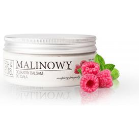 Fresh&Natural Malinowy delikatny balsam do ciała