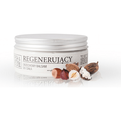 Regenerujący orzechowy balsam do ciała Fresh&Natural