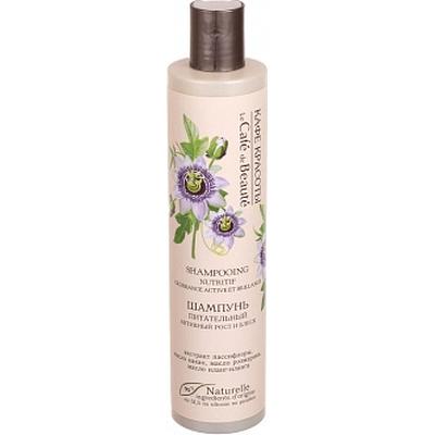 Odżywczy szampon dla włosów cienkich i słabych Le Cafe de Beaute