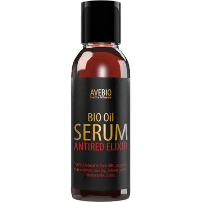 Naturalne serum - cera naczynkowa i trądzik różowaty - BIO Oil Antired Elixir Avebio