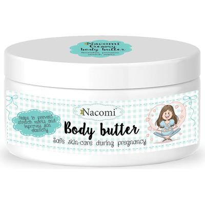 Kremowe masło do ciała dla kobiet w ciąży Nacomi