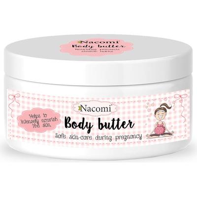 Intensywnie pielęgnujące masło do ciała dla kobiet w ciąży Nacomi