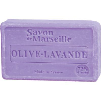 Mydło marsylskie z olejem ze słodkich migdałów - Oliwka i lawenda Le Chatelard