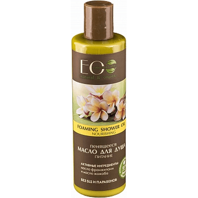 Pieniący się olejek pod prysznic - Odżywienie EO Laboratorie