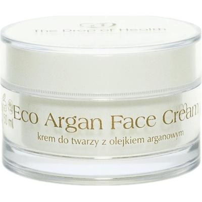 Eco Argan - Krem do twarzy z olejkiem arganowym Kropla Zdrowia