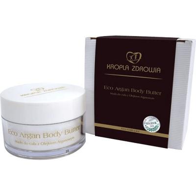 Eco Argan - Masło do ciała z olejkiem arganowym Kropla Zdrowia
