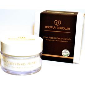 Kropla Zdrowia Eco Argan - Peeling do ciała z olejkiem arganowym