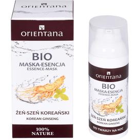 Orientana BIO maska-esencja - Żeńszeń koreański, 50 ml