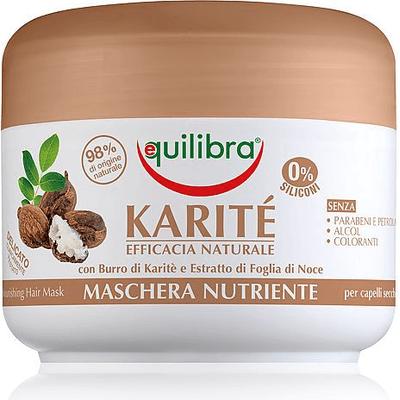 Intensywnie odżywiająca maska do włosów z masłem shea Equilibra
