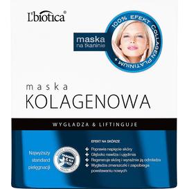 L'biotica Maska kolagenowa - Źródło młodości 23 ml