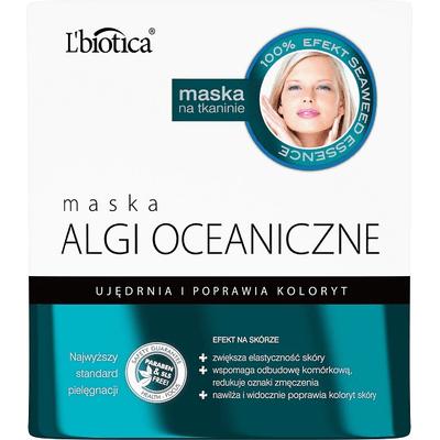 Maska z algami oceanicznymi - Witalność i blask L'biotica