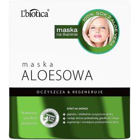 Maska aloesowa - Oczyszcza i regeneruje
