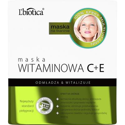 Maska witaminowa C+E L'biotica