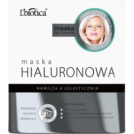 L'biotica Maska hialuronowa - Intensywne nawilżenie 23 ml