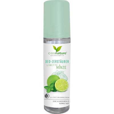 Naturalny dezodorant w sprayu - Limonka i mięta Cosnature