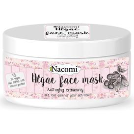 Nacomi Maska algowa przeciwstarzeniowa - Żurawina