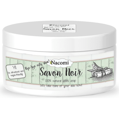 Czarne mydło Savon Noir Nacomi