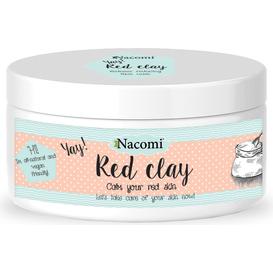 Nacomi Naturalna glinka czerwona wyrównująca koloryt 100 ml