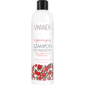 Regenerujący szampon do włosów farbowanych jasnych