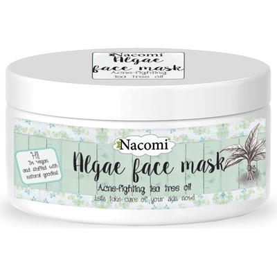 Maska algowa przeciwtrądzikowa - Drzewo herbaciane Nacomi