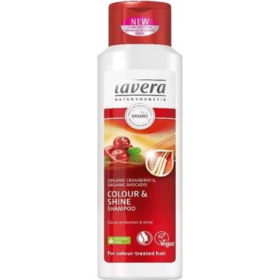 Pielęgnacyjny szampon chroniący kolor do włosów farbowanych Lavera