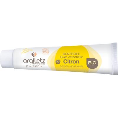 Pasta do zębów na bazie białej i żółtej glinki z cytryną Argiletz