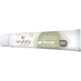 Argiletz Pasta do zębów na bazie zielonej glinki z szałwią