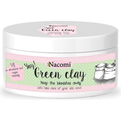 Naturalna glinka zielona oczyszczająca Nacomi