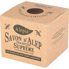 Alepia Mydło Alep Tradition Supreme 1% oleju laurowego, 190g