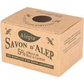 Alepia Mydło Alep 5% oleju laurowego, 190g