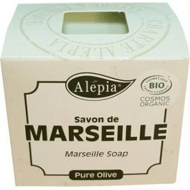 Alepia Mydło marsylskie 100% oliwy z oliwek BIO, 190g