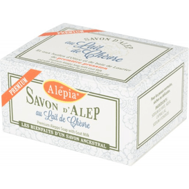 Alepia Mydło d'Alep Premium z kozim mlekiem, 150 g