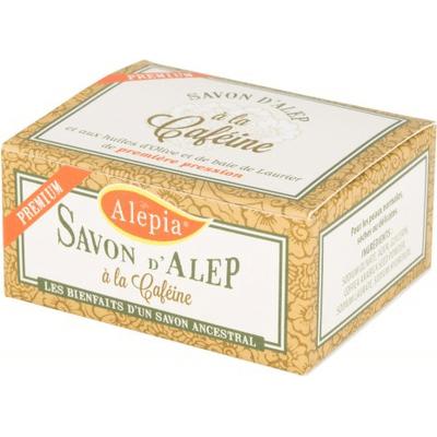 Mydło d'Alep Premium z kofeiną Alepia