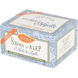 Alepia Mydło d'Alep Premium z olejem z czarnuszki, 125 g