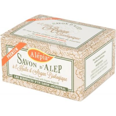 Mydło d'Alep Premium z olejem arganowym Alepia