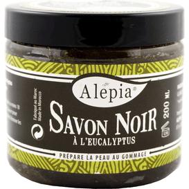 Alepia Mydło Savon Noir z eukaliptusem