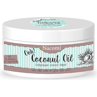 Olejek kokosowy - nierafinowany Nacomi
