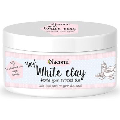 Naturalna glinka biała (kaolin) - nawilżająca i łagodząca Nacomi