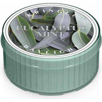 Świeca zapachowa: Eukaliptus i mięta (Eucalyptus Mint) Kringle Candle