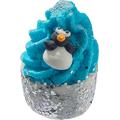 Kremowa babeczka do kąpieli - Miętowy pingwinek
