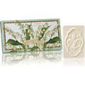 Naturalne mydełka tłoczone w ozdobnym opakowaniu - Konwalia