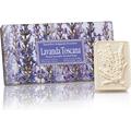 Naturalne mydełka tłoczone w ozdobnym opakowaniu - Lawenda toskańska