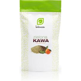 Intenson Kawa zielona mielona o smaku pomarańczowym