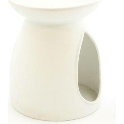 Kominek do wosków: Porcelanowy gładki (biały) Kringle Candle