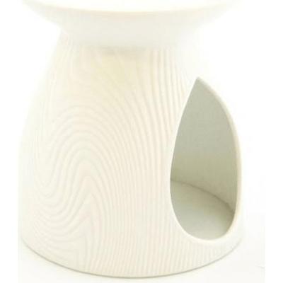Kominek do wosków: Porcelanowy wzór (biały) Kringle Candle